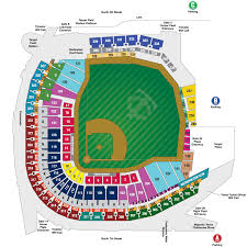 Coors Field Map Chart Chase Field Seating Chart Detailed