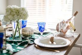 Beach Themed Dining Room by Summer Dining Table Decor Aerin Lauder X Williams Sonoma