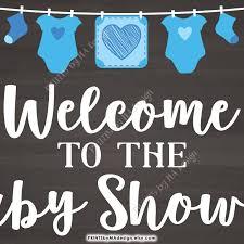 baby shower welcome sign baby shower welcome sign welcome to the baby shower sign baby