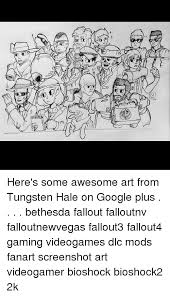 Google Plus Meme - here s some awesome art from tungsten hale on google plus bethesda