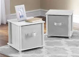 end tables shelf storage cube side nightstand coffee table set of