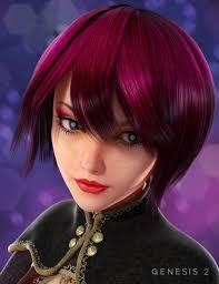 hikari hair 3d models and 3d software by daz 3d