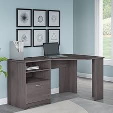 Bush Furniture Corner Desk Bush Furniture Corner Desk In Grey Brown Aptdeco