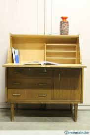 secretaire bureau rétro vintage bureau meuble secretaire a vendre 2ememain be