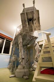 ATAT Bunk Bed Star Wars Geek Pinterest Bunk Bed - Star wars bunk bed