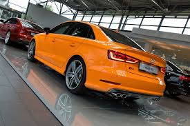Orange Paint by Audi S3 Sedan With Glut Orange Paint Audi Pinterest Audi