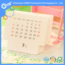 2018 standing desk flip calendars with wire o binding