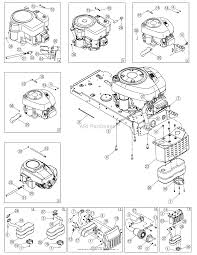 troy bilt 13an77tg766 pony 2007 parts diagrams