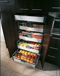 tiroir de cuisine rangement tiroirs cuisine meuble de rangement cuisine avec plan