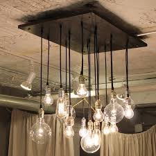 industrial chandelier edison bulb industrial lighting