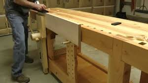 42 the roubo workbench in action youtube