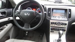 2006 Infiniti G35 Coupe Interior 2007 Infiniti G35 Platinum Graphite Metalli Stock 14703a