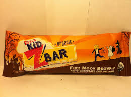 review clif kid z bar full moon brownie crazy food dude