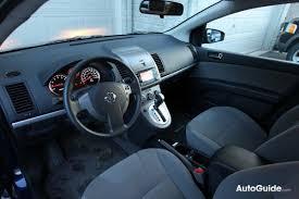 Nissan Sentra Interior 2010 Nissan Sentra 2 0 S Review Car Reviews