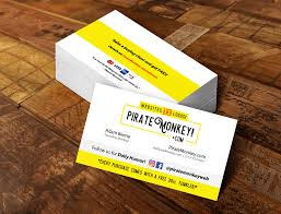 Business Card Design Pricing Pirate Monkey Our Services U0026 Pricing Website Design Logo