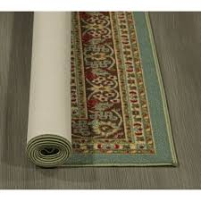 Rubber Backed Runner Rugs Ottomanson Ottohome Persian Heriz Oriental Design Runner Rug With