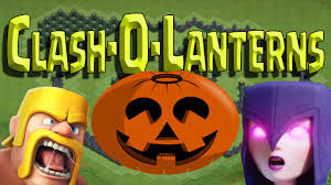 clash of clans clash o lanterns halloween special pumpkin