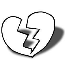 pictures of a broken heart clipart 49