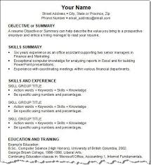 Information Technology Resume Skills Cv Key Skills Support Worker