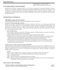 Sample Resume Of Customer Service Manager by Gorgeous Customer Service Sample Resume 15 For Call Center Best
