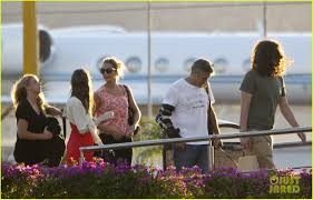 george clooney u0026 stacy keibler head home from cabo photo 2604610