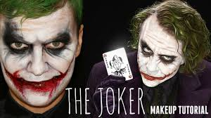 Batman Halloween Makeup by The Joker U2014 Easy Halloween Makeup And Face Painting Tutorial Youtube