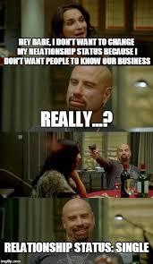 Hey Babe Meme - skinhead john travolta meme imgflip