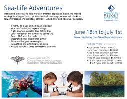 kids sea life adventures dive package in yap micronesia