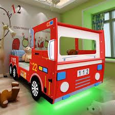 decoration chambre pompier led suspendu but camion tiroir set ans pliable mural lit cher