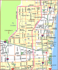 map of ft lauderdale road map of fort lauderdale fort lauderdale florida