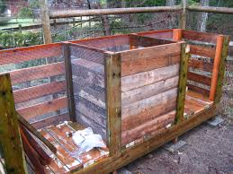 backyard composting bin to build home outdoor decoration