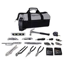 amazon black friday tool set amazonbasics 115 piece home repair kit amazon com