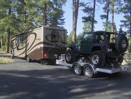 4 door jeep rock crawler 2012 jayco embark qx390 towing jeep rock crawler on trailer