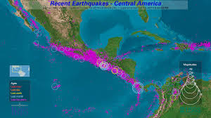 United States Earthquake Map by Earthquake Channel Display Software Iris
