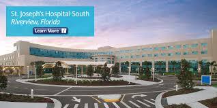 Riverview Florida Map by St Joseph U0027s Hospital South