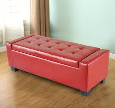 Ottoman Storage Bench Red Ottoman Storage Image Of Storage Cube Ottoman Red Red Fabric