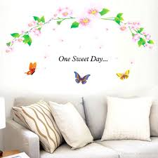 Butterfly Wall Decals For Nursery by Wall Ideas Wall Decor Stickers Dollar Tree Vinyl Wall Decor
