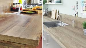 cuisine plan de travail bois massif cuisine comment huiler plan de travail en bois