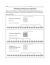 all worksheets multiplying integers worksheets free printable
