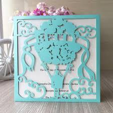 Decoration De Ballon Pour Mariage Achetez En Gros Tiffany Invitations De Mariage En Ligne à Des