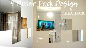 ikea u0027lots u0027 4 mirror hack home decor idea youtube