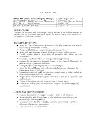 sle resumes for management positions property management job description for resume printable planner