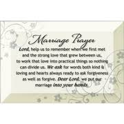 marriage prayers for couples marriage prayer lord keep us together glass plaque christianbook