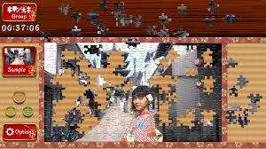japanese women animated jigsaws on steam