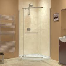rain glass door architecture exciting bathroom design with corner shower stalls