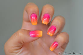 ombre nail design tumblr sunset gradient ombre nails tutorial and tips nailed it