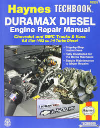 haynes techbook duramax diesel engine repair manual 2001 2012