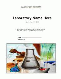 word lab report template lab report format template