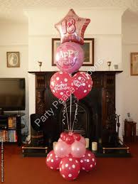 balloons for 18th birthday party balloons balloon bouquets party peace balloons st helens
