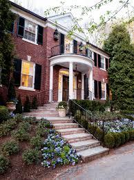 exterior paint trim color ideas brick houses craftsman home with
